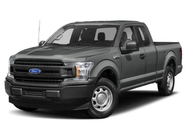 2020 Abyss Gray Metallic Ford F-150 XL Automatic 2.7L V6 Engine Truck 4X4 4 Door