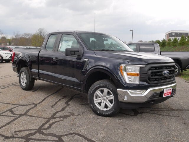 2021 Antimatter Blue Metallic Ford F-150 XL 4 Door Regular Unleaded 2.7 L EcoBoost Engine Automatic 4X4