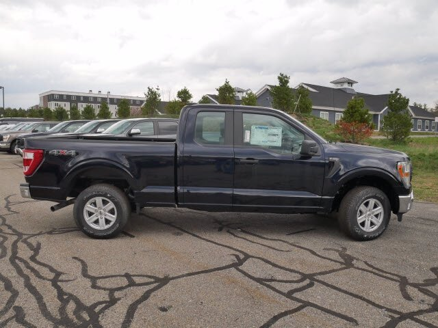 2021 Antimatter Blue Metallic Ford F-150 XL 4 Door 4X4 Automatic Truck Regular Unleaded 2.7 L EcoBoost Engine