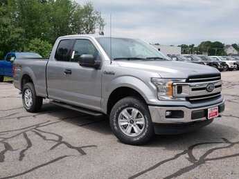 2020 Iconic Silver Metallic Ford F-150 XLT 4 Door 5.0L V8 Engine 4X4 Automatic Truck