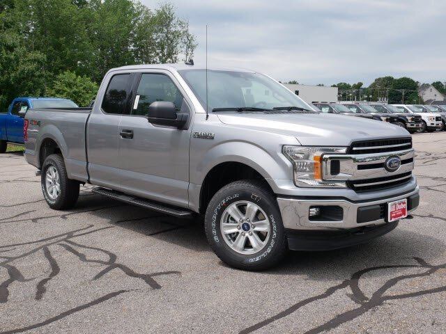 2020 Iconic Silver Metallic Ford F-150 XLT 4 Door 5.0L V8 Engine Truck 4X4 Automatic