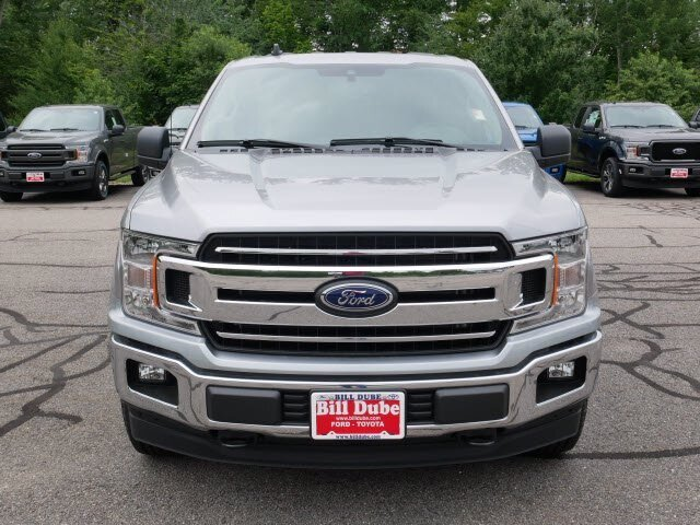 2020 Iconic Silver Metallic Ford F-150 XLT Automatic 4X4 Truck 4 Door 5.0L V8 Engine