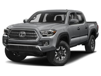 2018 Cement Toyota Tacoma TRD Off Road 3.5L V6 Engine Automatic 4 Door Truck