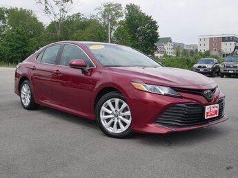 2019 Ruby Flare Pearl Toyota Camry LE Automatic 2.5L 4 cyls Engine Sedan FWD 4 Door