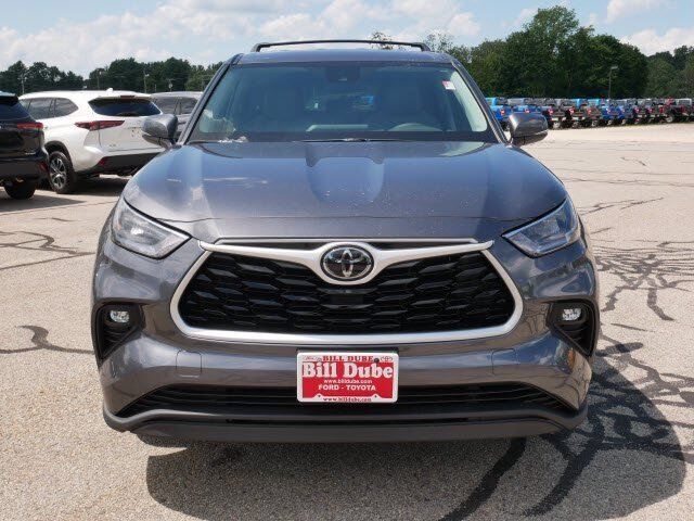 2020 Magnetic Gray Metallic Toyota Highlander LE AWD 3.5L V6 Engine 4 Door Automatic SUV