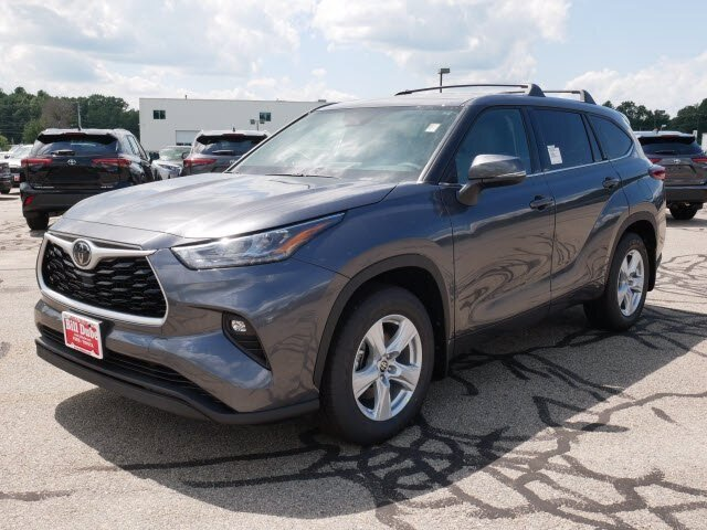 2020 Magnetic Gray Metallic Toyota Highlander LE 3.5L V6 Engine Automatic 4 Door AWD SUV