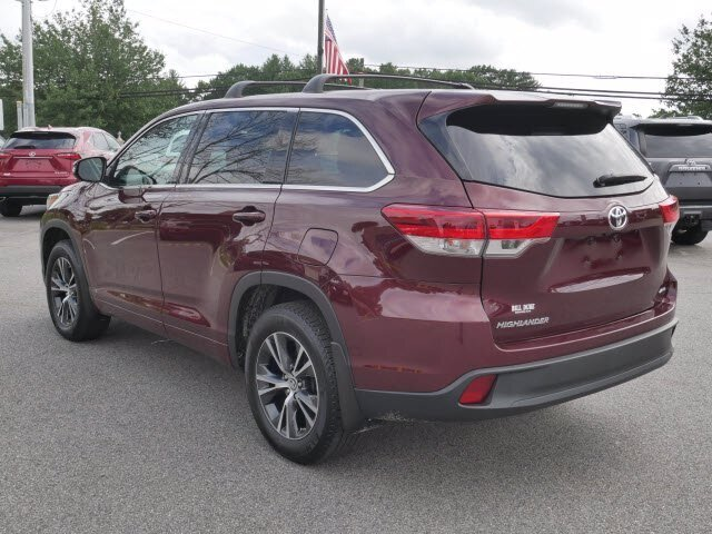 2018 Predawn Gray Mica Toyota Highlander LE AWD 4 Door 3.5L V6 Engine Automatic SUV