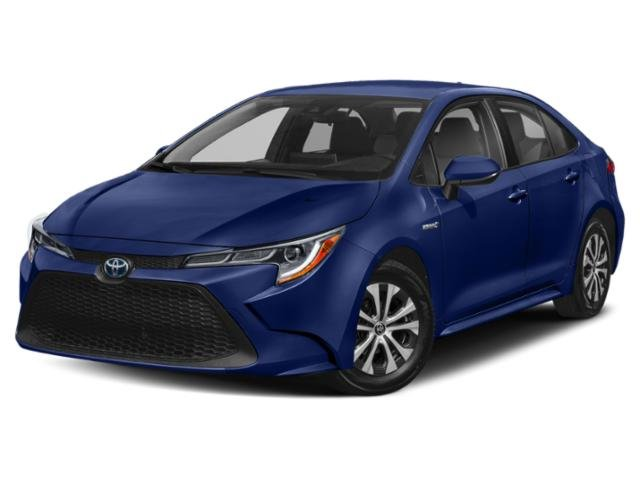 2020 Blueprint Toyota Corolla Hybrid LE FWD Sedan 4 Door 1.8L 4 cyls Hybrid Engine