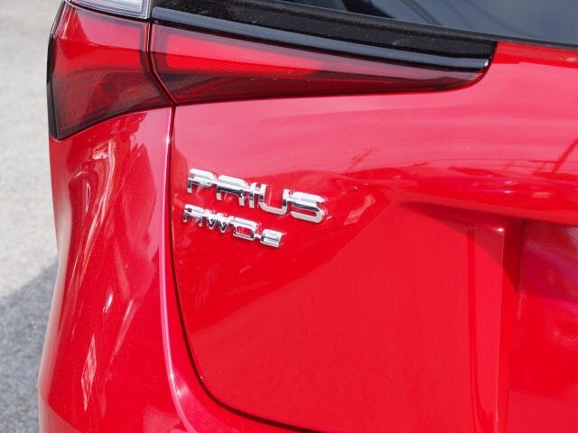 2021 Supersonic Red Toyota Prius LE Automatic (CVT) Hatchback 1.8L 4 cyls Hybrid Engine AWD