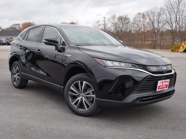 2021 Black Toyota Venza LE AWD SUV 4 Door AWD