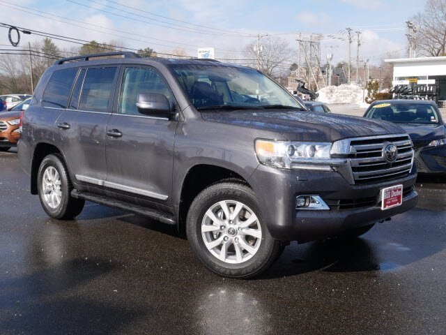 2021 Toyota Land Cruiser Base Automatic 4X4 4 Door SUV Regular Unleaded V-8 5.7 L/346 Engine