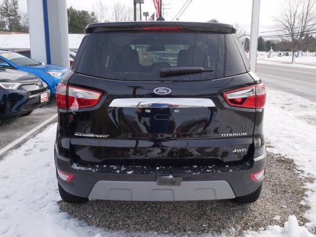 2020 Ford EcoSport Titanium 2.0L 4 cyls Engine 4X4 Automatic 4 Door