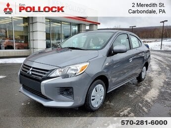 2021 Mercury Gray Metallic Mitsubishi Mirage G4 Automatic (CVT) 1.2L 3-Cylinder DOHC MIVEC Engine FWD 4 Door