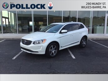 2015 Crystal White Pearl Volvo XC60 T6 3.0L I6 Turbocharged Engine Automatic SUV 4 Door