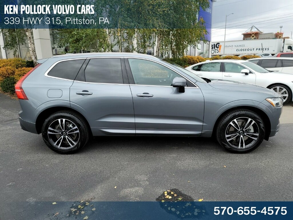 2021 Gray Volvo XC60 T6 Momentum I4 Supercharged Engine 4 Door AWD
