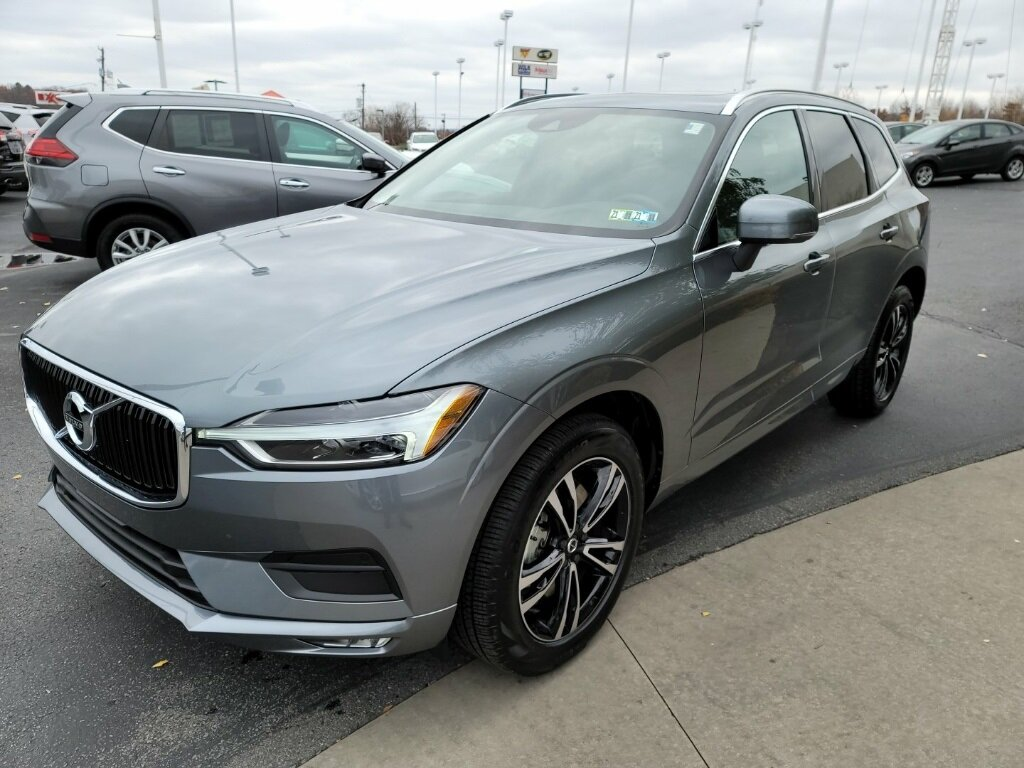 2021 Gray Volvo XC60 T6 Momentum I4 Supercharged Engine 4 Door SUV AWD Automatic