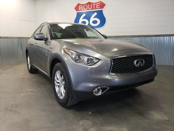 2017 Graphite Shadow INFINITI QX70 Base 4 Door AWD Automatic
