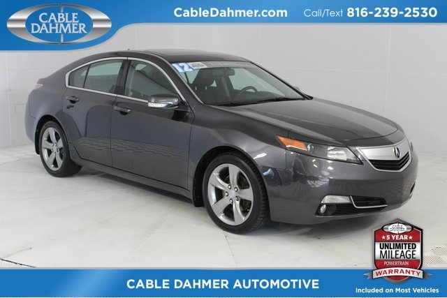 2012 Gray Acura TL Auto Sedan 4 Door Automatic AWD