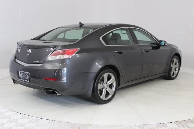 2012 Gray Acura TL Auto AWD Automatic 4 Door 3.7L V6 SOHC VTEC 24V Engine Sedan