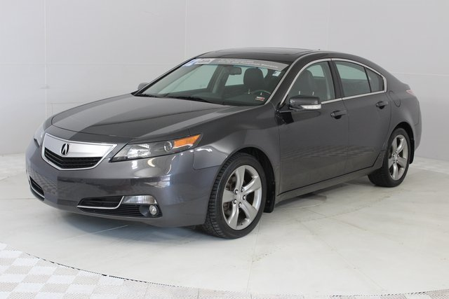 2012 Gray Acura TL Auto AWD 3.7L V6 SOHC VTEC 24V Engine Sedan