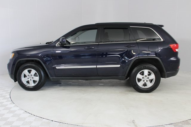 2013 True Blue Pearl Jeep Grand Cherokee Laredo 4X4 Automatic 4 Door 3.6L V6 Flex Fuel 24V VVT Engine
