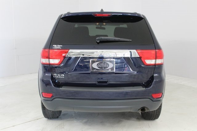 2013 True Blue Pearl Jeep Grand Cherokee Laredo SUV 4 Door Automatic 3.6L V6 Flex Fuel 24V VVT Engine 4X4