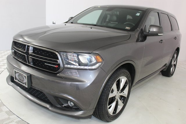 2014 Granite Crystal Metallic Clearcoat Dodge Durango R/T SUV HEMI 5.7L V8 Multi Displacement VVT Engine 4 Door Automatic