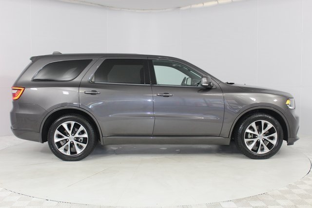 2014 Granite Crystal Metallic Clearcoat Dodge Durango R/T Automatic 4 Door SUV AWD HEMI 5.7L V8 Multi Displacement VVT Engine