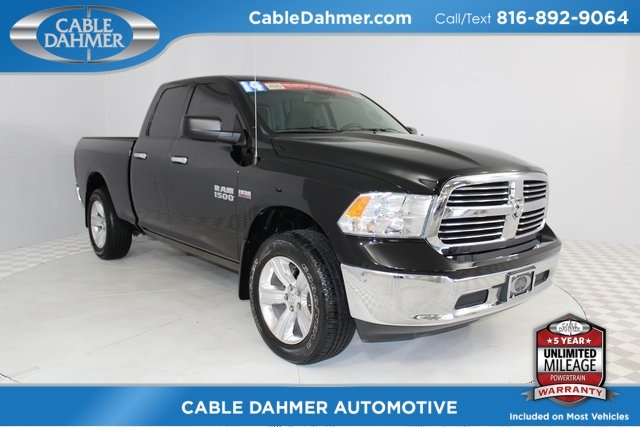 2014 Black Clearcoat Ram 1500 SLT 4 Door Truck Automatic