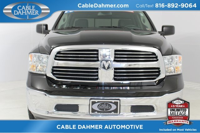 2014 Ram 1500 SLT Automatic Truck HEMI 5.7L V8 Multi Displacement VVT Engine 4X4
