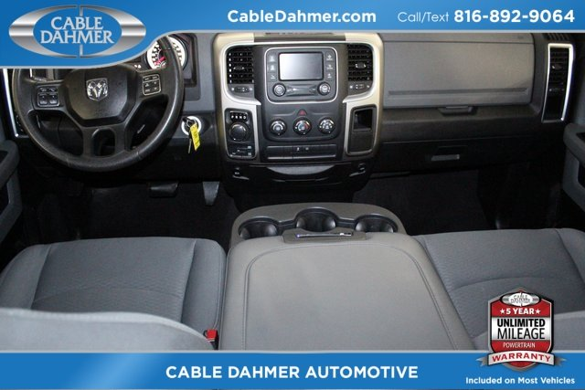 2014 Ram 1500 SLT HEMI 5.7L V8 Multi Displacement VVT Engine Truck Automatic 4X4