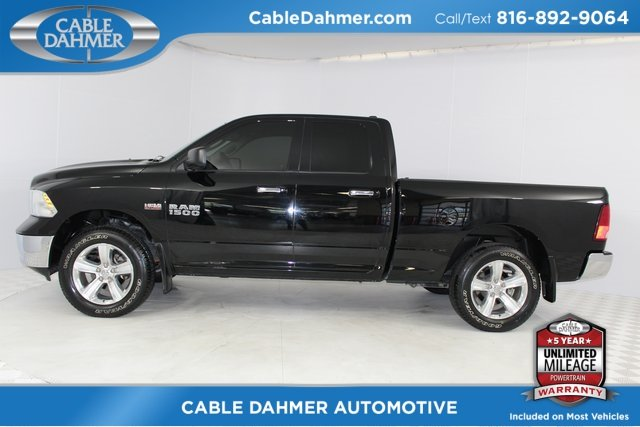 2014 Black Clearcoat Ram 1500 SLT 4 Door 4X4 Truck