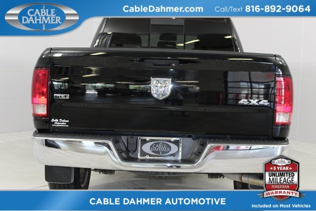 2014 Black Clearcoat Ram 1500 SLT 4 Door Truck HEMI 5.7L V8 Multi Displacement VVT Engine