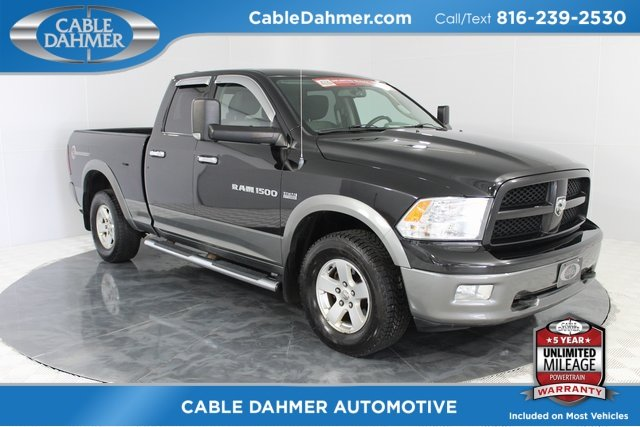2011 Ram 1500 Outdoorsman 4 Door HEMI 5.7L V8 Multi Displacement VVT Engine Truck Automatic 4X4