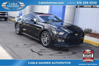2017 Shadow Black Ford Mustang GT 5.0L V8 Ti-VCT Engine Automatic 2 Door Coupe