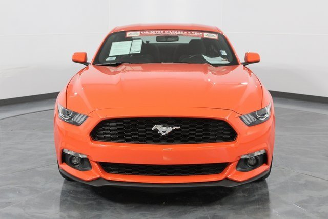 2016 Ford Mustang EcoBoost EcoBoost 2.3L I4 GTDi DOHC Turbocharged VCT Engine RWD Coupe Automatic