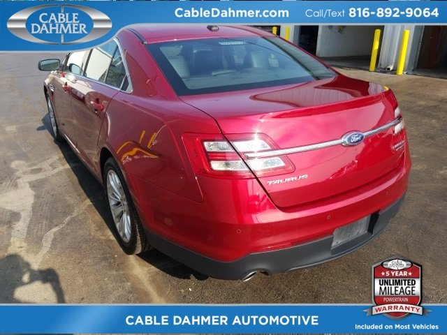 2017 Ford Taurus Limited 3.5L 6-Cylinder SMPI DOHC Engine Sedan 4 Door Automatic FWD