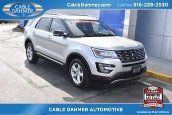 2017 Ingot Silver Metallic Ford Explorer XLT SUV Automatic 4 Door 4X4