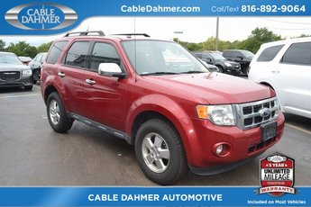 2010 Red Ford Escape XLT Automatic FWD 2.5L I4 Engine 4 Door SUV
