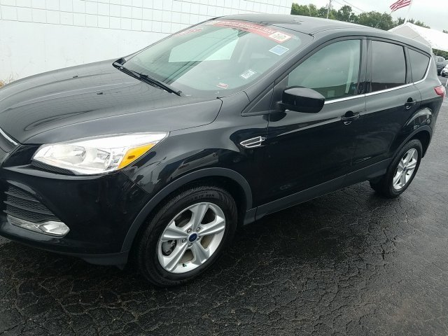 2015 Tuxedo Black Ford Escape SE Automatic SUV 4X4 4 Door EcoBoost 1.6L I4 GTDi DOHC Turbocharged VCT Engine
