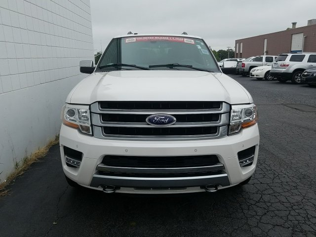 2015 Ford Expedition Platinum EcoBoost 3.5L V6 GTDi DOHC 24V Twin Turbocharged Engine 4X4 4 Door Automatic
