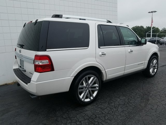 2015 Ford Expedition Platinum Automatic EcoBoost 3.5L V6 GTDi DOHC 24V Twin Turbocharged Engine SUV 4X4 4 Door