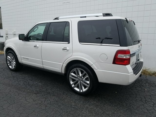2015 Ford Expedition Platinum 4 Door 4X4 EcoBoost 3.5L V6 GTDi DOHC 24V Twin Turbocharged Engine Automatic