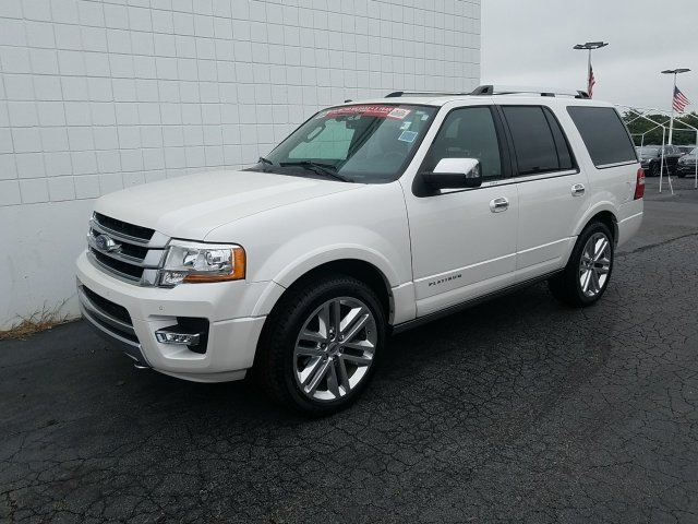 2015 Ford Expedition Platinum 4 Door 4X4 Automatic EcoBoost 3.5L V6 GTDi DOHC 24V Twin Turbocharged Engine SUV