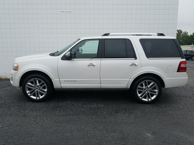 2015 Ford Expedition Platinum 4 Door EcoBoost 3.5L V6 GTDi DOHC 24V Twin Turbocharged Engine 4X4 Automatic SUV