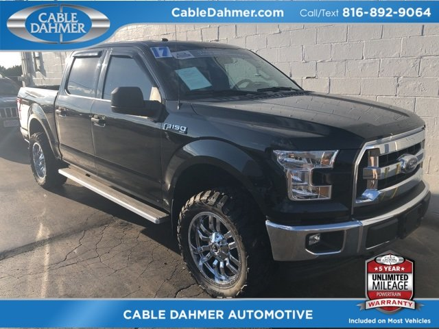 2017 Ford F-150 XLT 4X4 5.0L V8 FFV Engine Automatic 4 Door