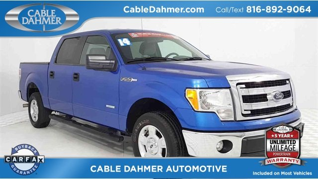 2014 Ford F-150 XLT RWD Truck 4 Door Automatic EcoBoost 3.5L V6 GTDi DOHC 24V Twin Turbocharged Engine