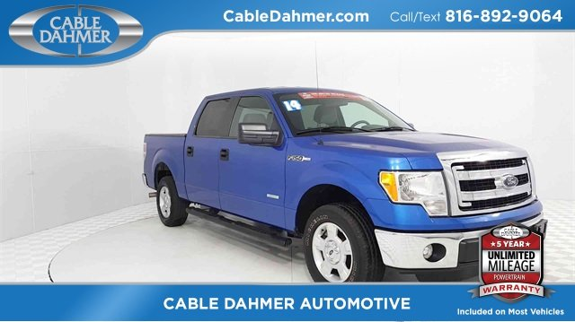2014 Ford F-150 XLT 4 Door RWD EcoBoost 3.5L V6 GTDi DOHC 24V Twin Turbocharged Engine Truck