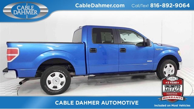 2014 Ford F-150 XLT 4 Door Truck EcoBoost 3.5L V6 GTDi DOHC 24V Twin Turbocharged Engine Automatic RWD