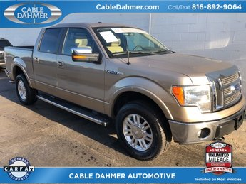 2012 bronze Ford F-150 Lariat 5.0L V8 FFV Engine 4X4 Truck 4 Door